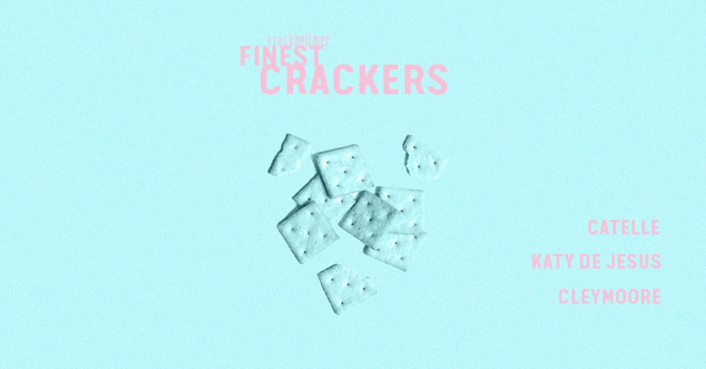 Finest Crackers - Flyer front