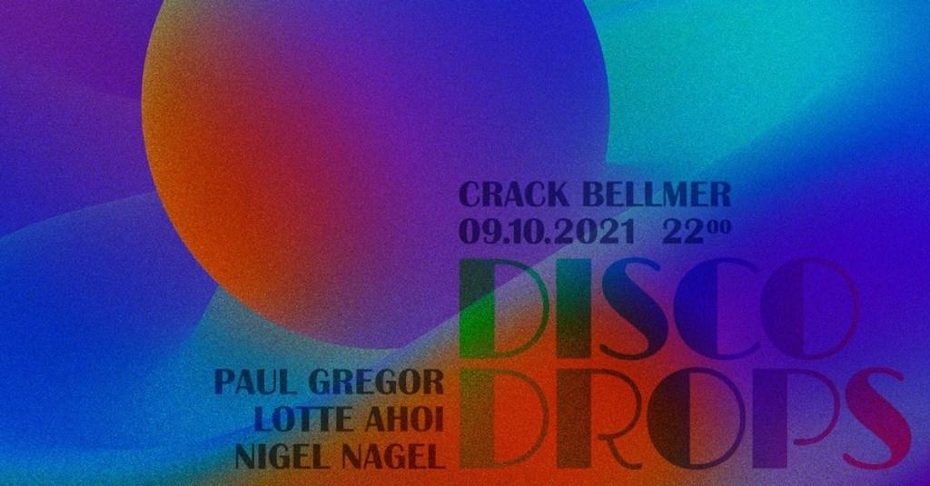 Disco Drops - Flyer front