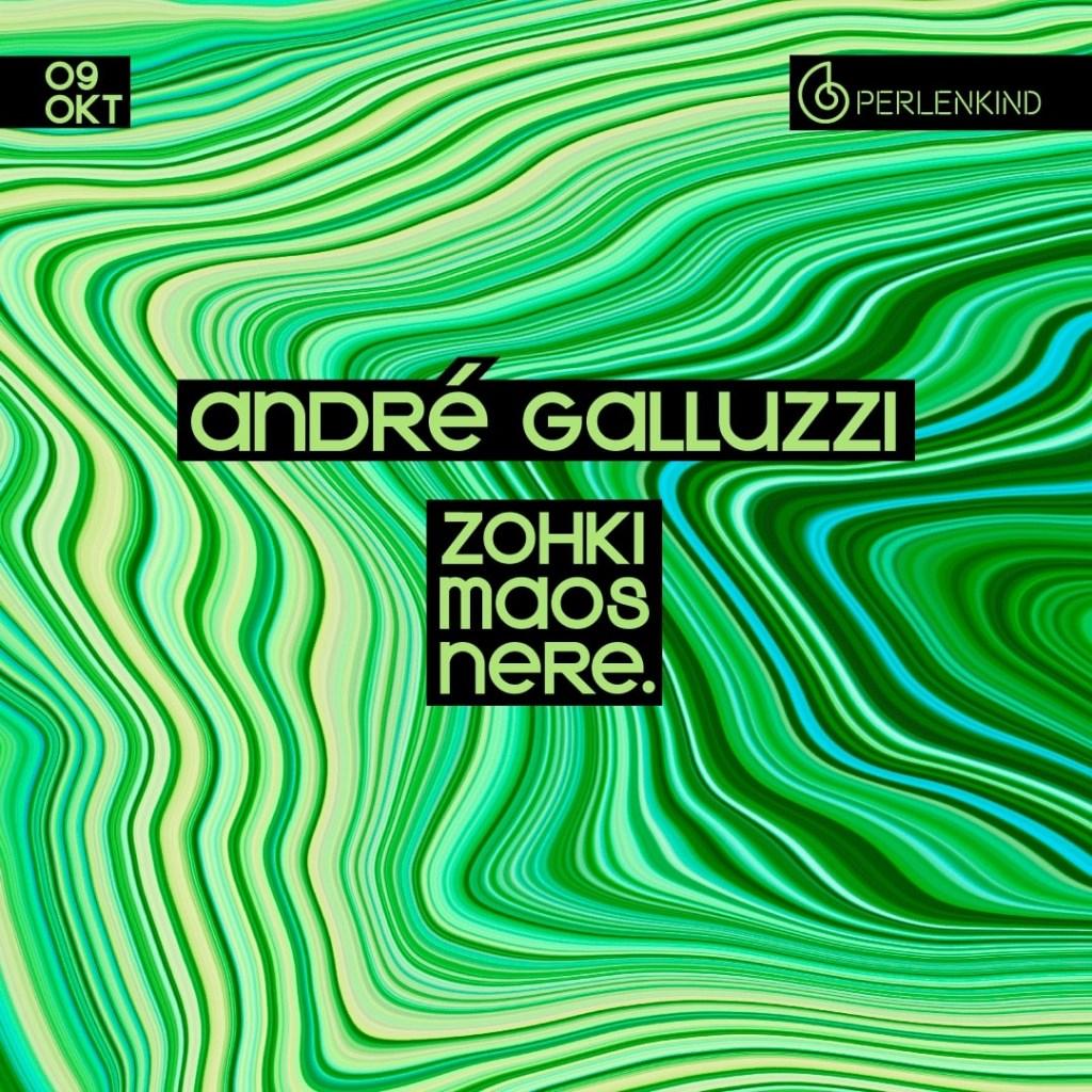 André Galluzzi - Flyer front