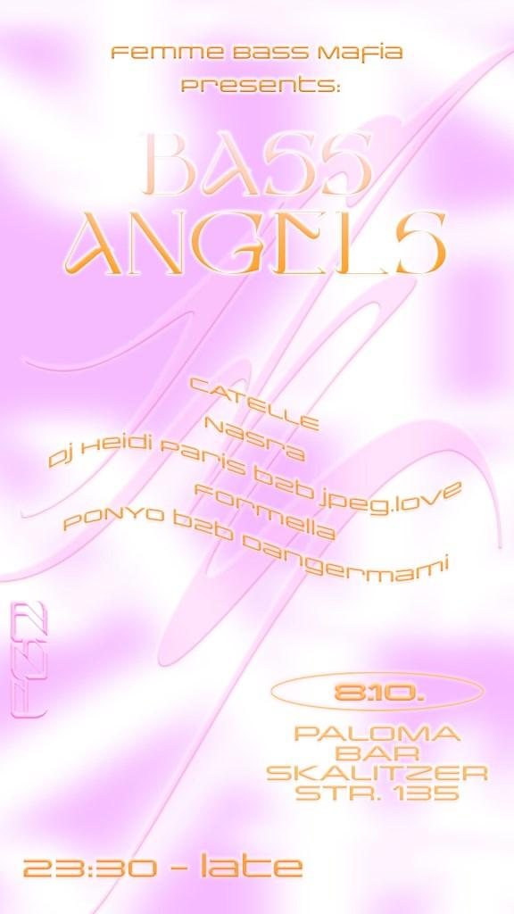 Femme Bass Mafia presents: Bass Angels - Flyer front