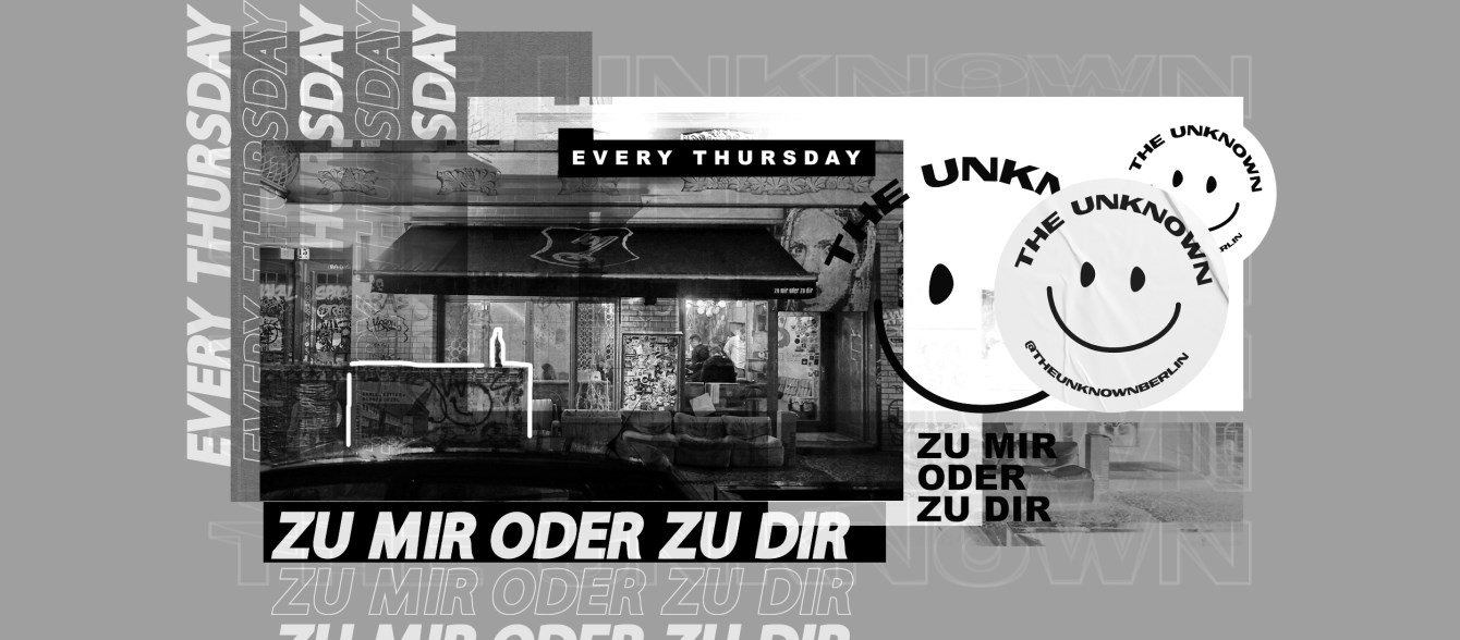 The Unknown - Flyer front