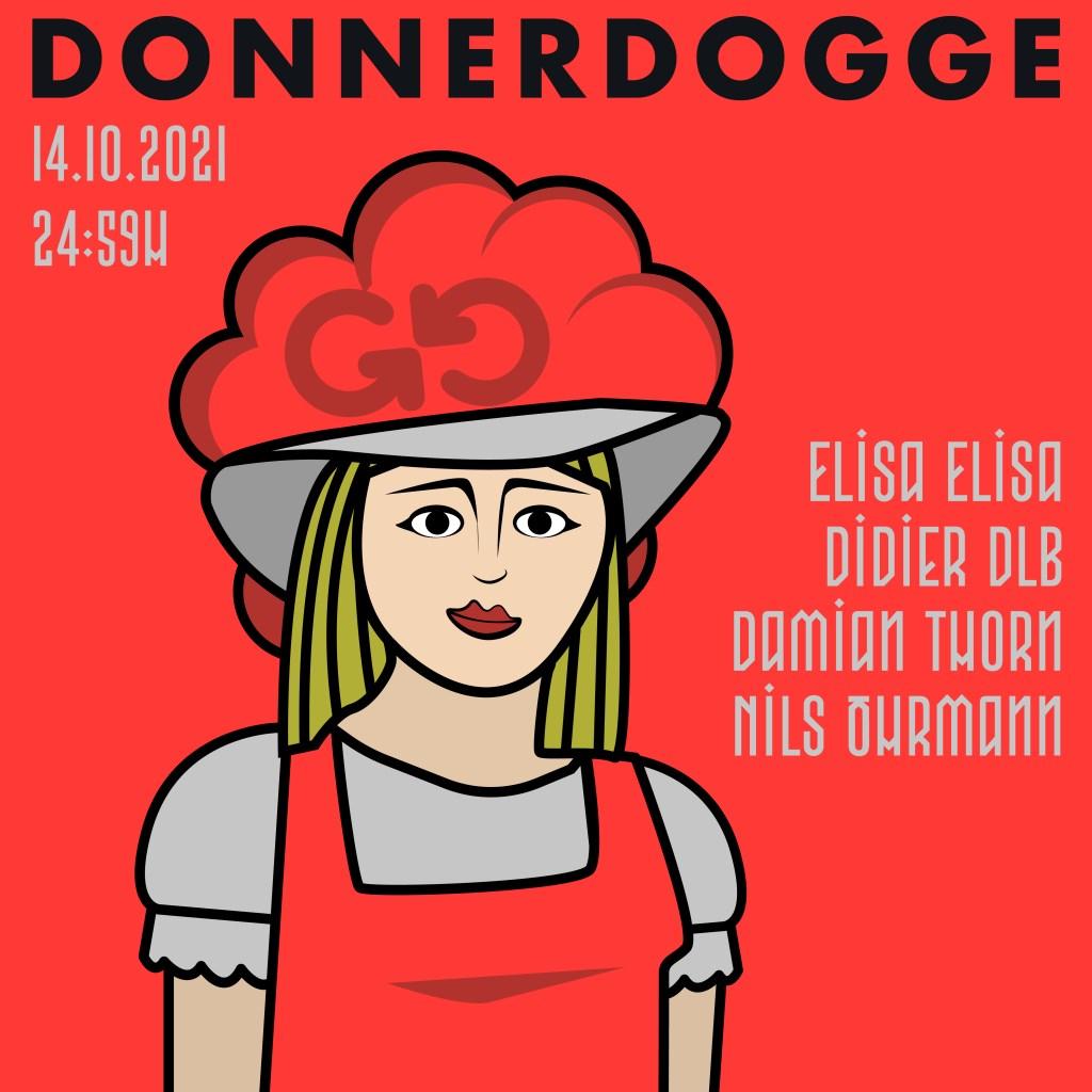 Donnerdogge - Flyer front