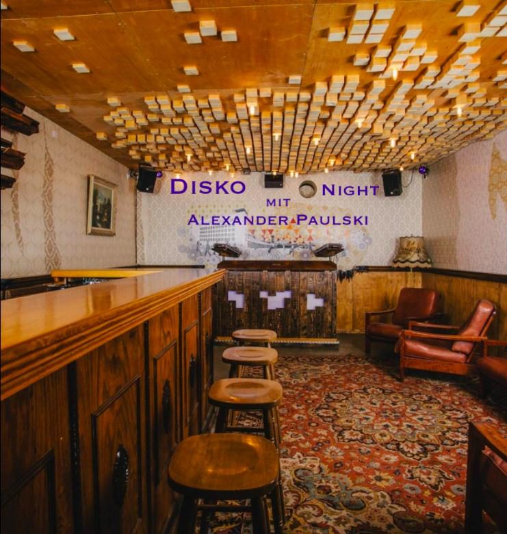 Disko Donnerstag im Promenaden Eck - Flyer front