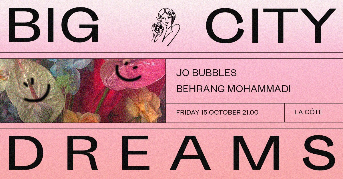 Ttnotdb Release Party with Jo Bubbles - Flyer front