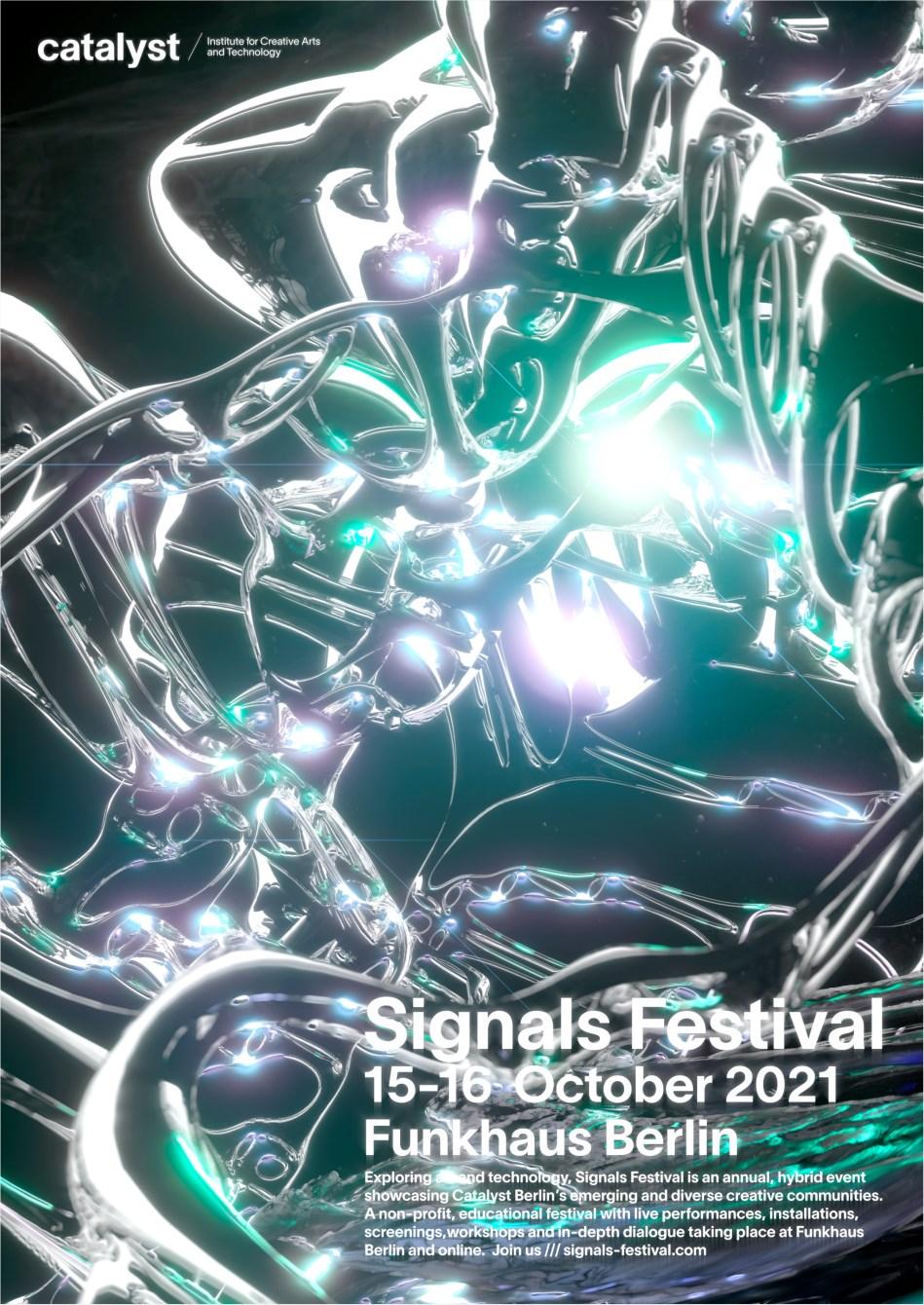 Signals Festival 2021 - Flyer front