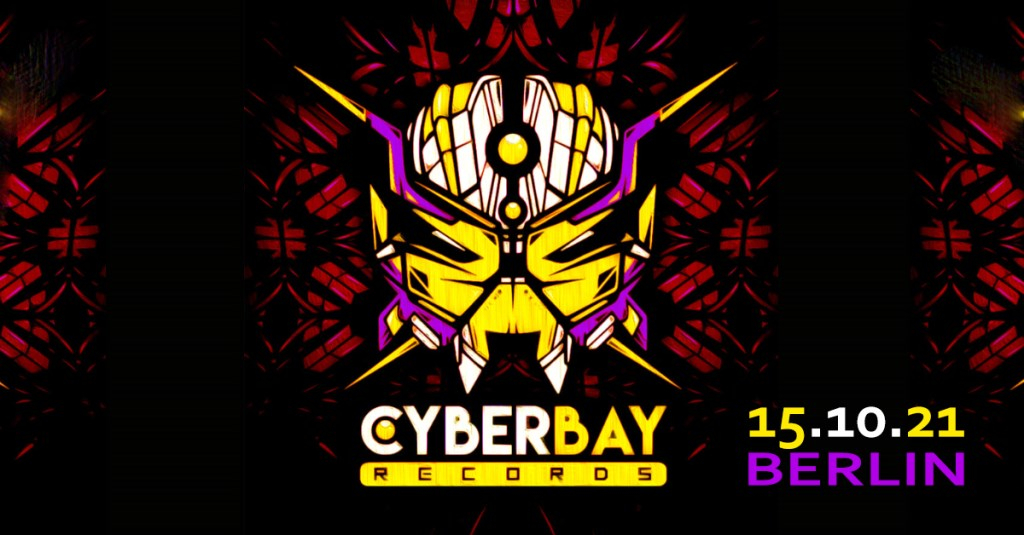 CyberBay records Label Night Berlin - Flyer front