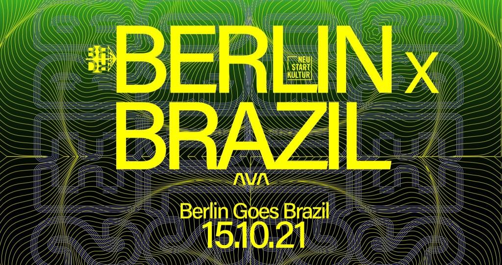 Borderless Pres. Berlin X São Paulo - Flyer front