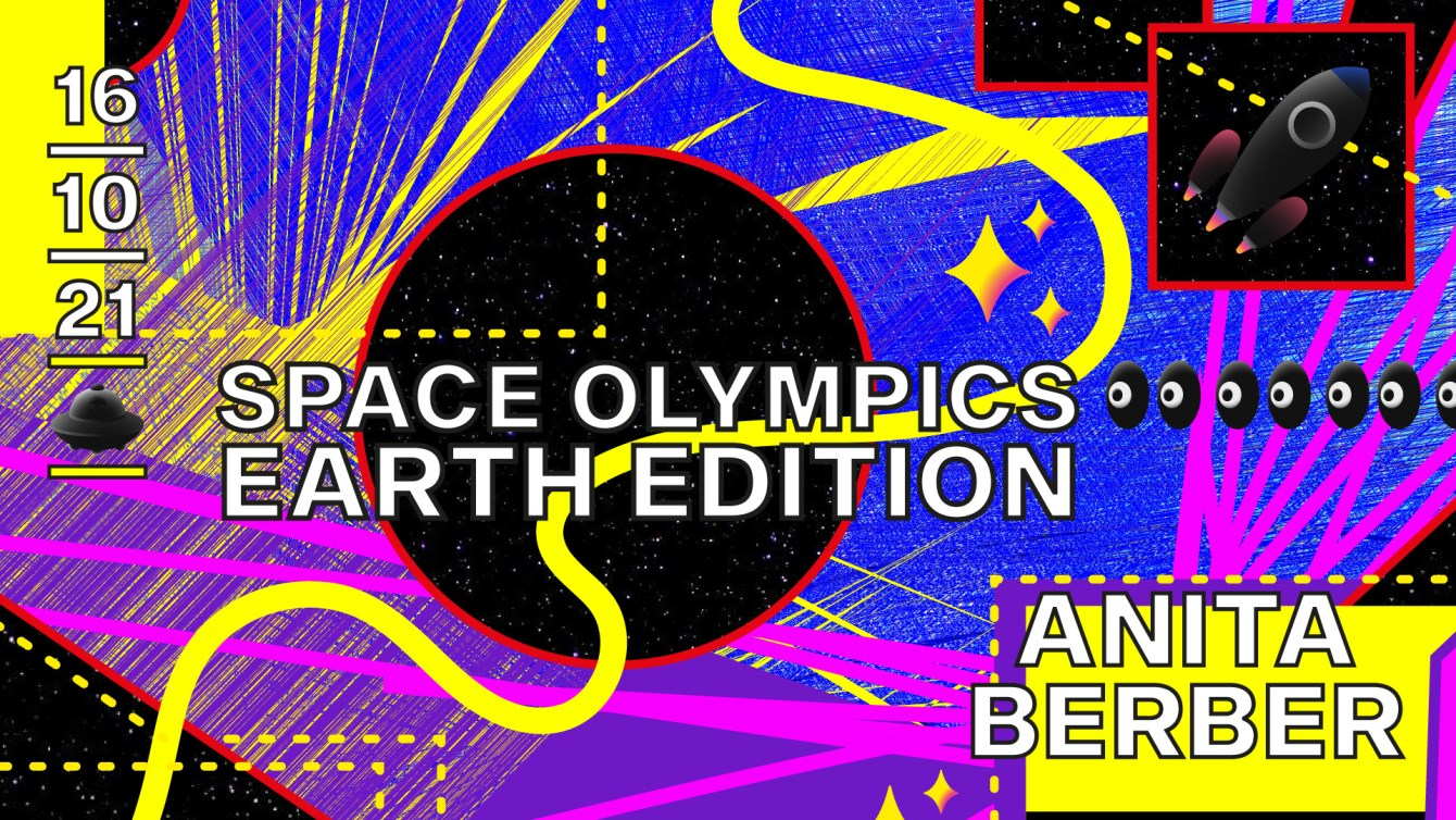 Canceled - Space Olympics - Earth Edition - Flyer front
