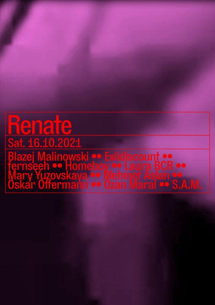 Blazej Malinowski, Oskar Offermann, S.A.M., Mehmet Aslan - Flyer front
