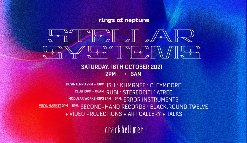 Stellar Systems / Day & Night - Flyer front