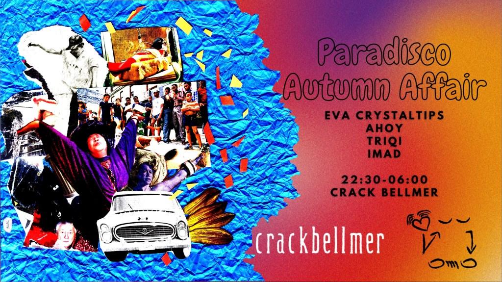 Paradisco Autumn Affair - Flyer front