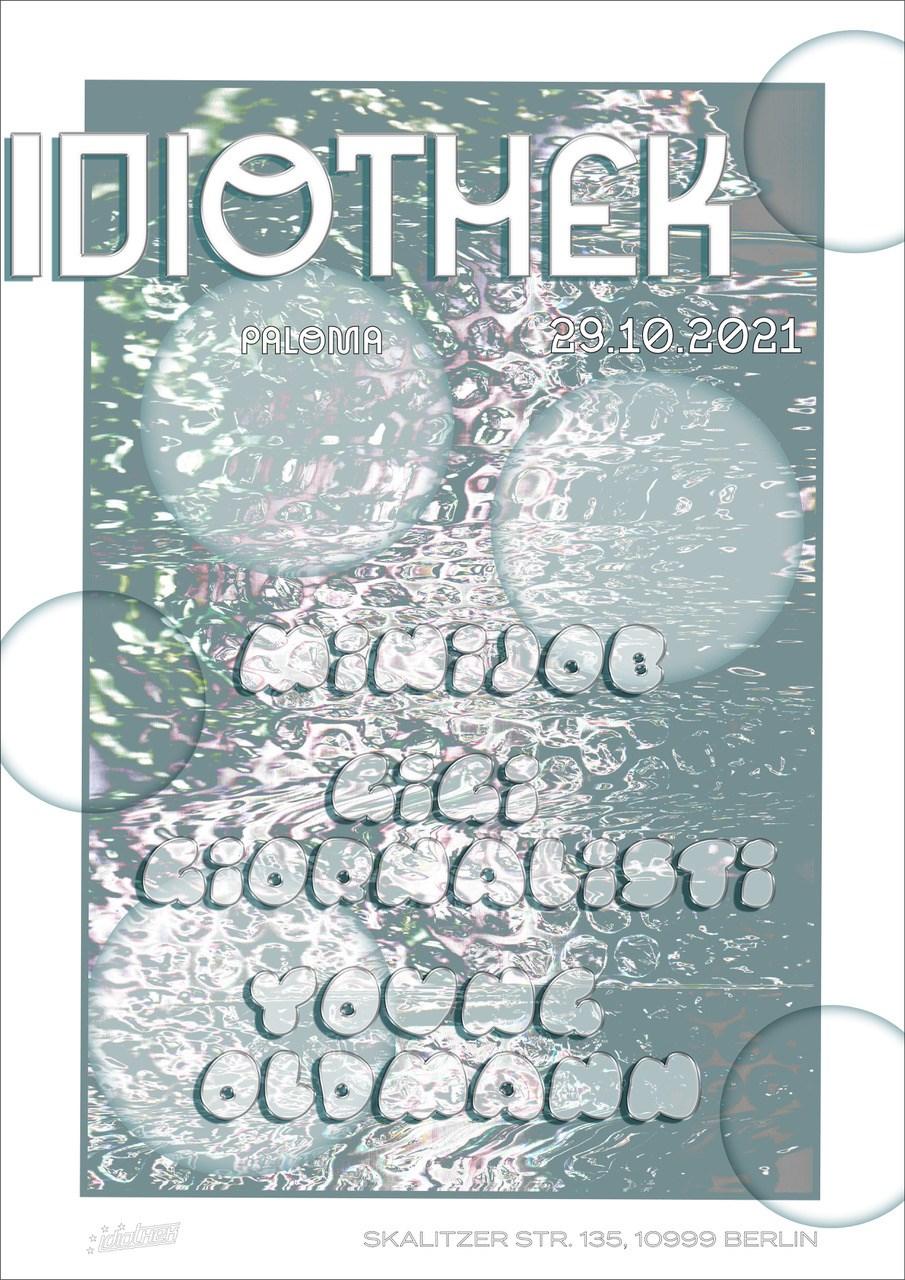 Idiothek - Flyer back
