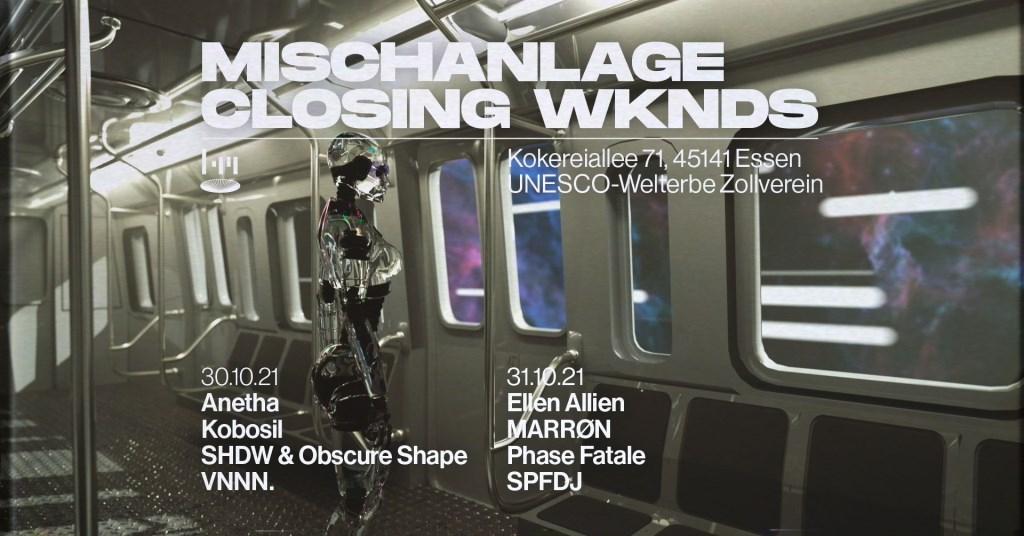 Third Room x Mischanlage Closing Wknd #2 - Sunday - Flyer front