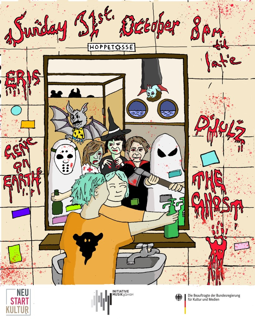 The Ghost Halloween Special - Flyer front