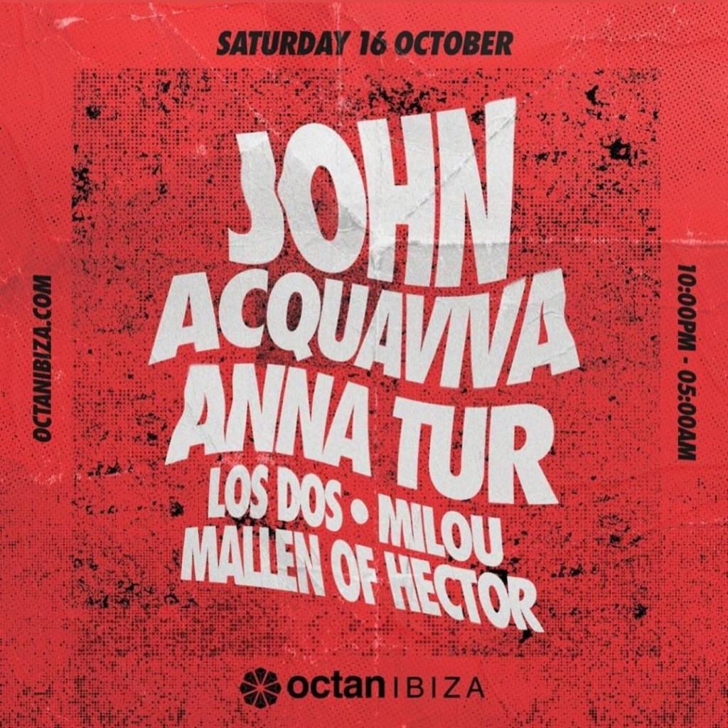 John Acquaviva - Flyer front