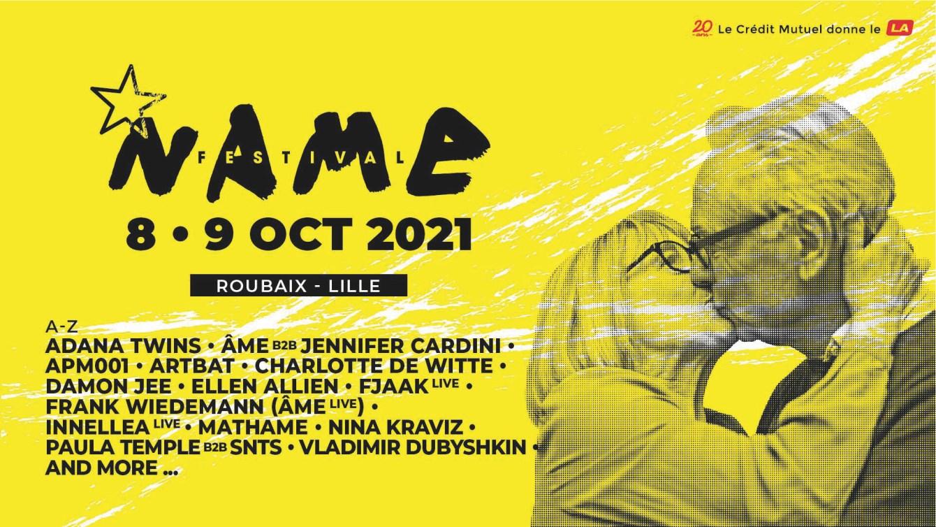 Name Festival - Flyer front