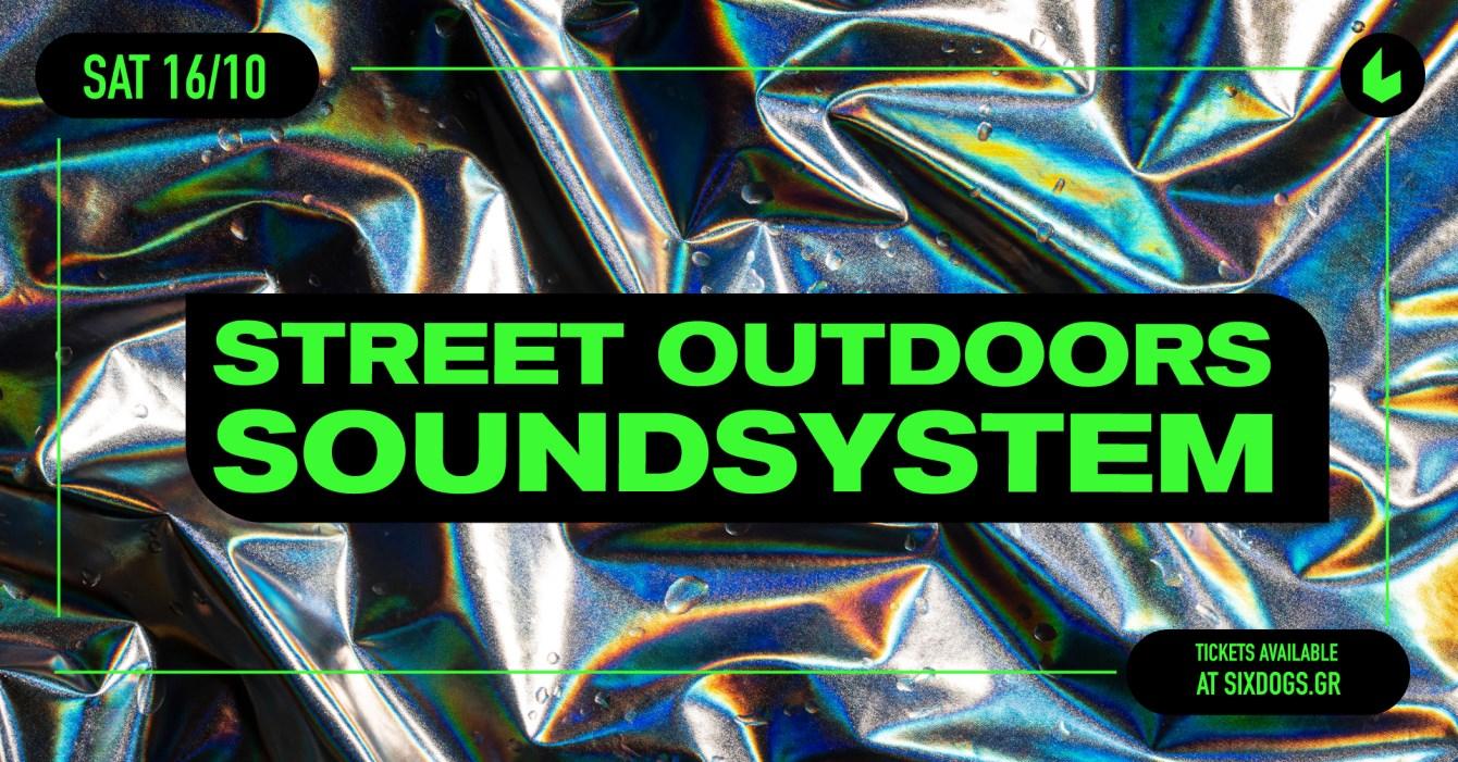 Street Outdoors Soundsystem - Flyer front