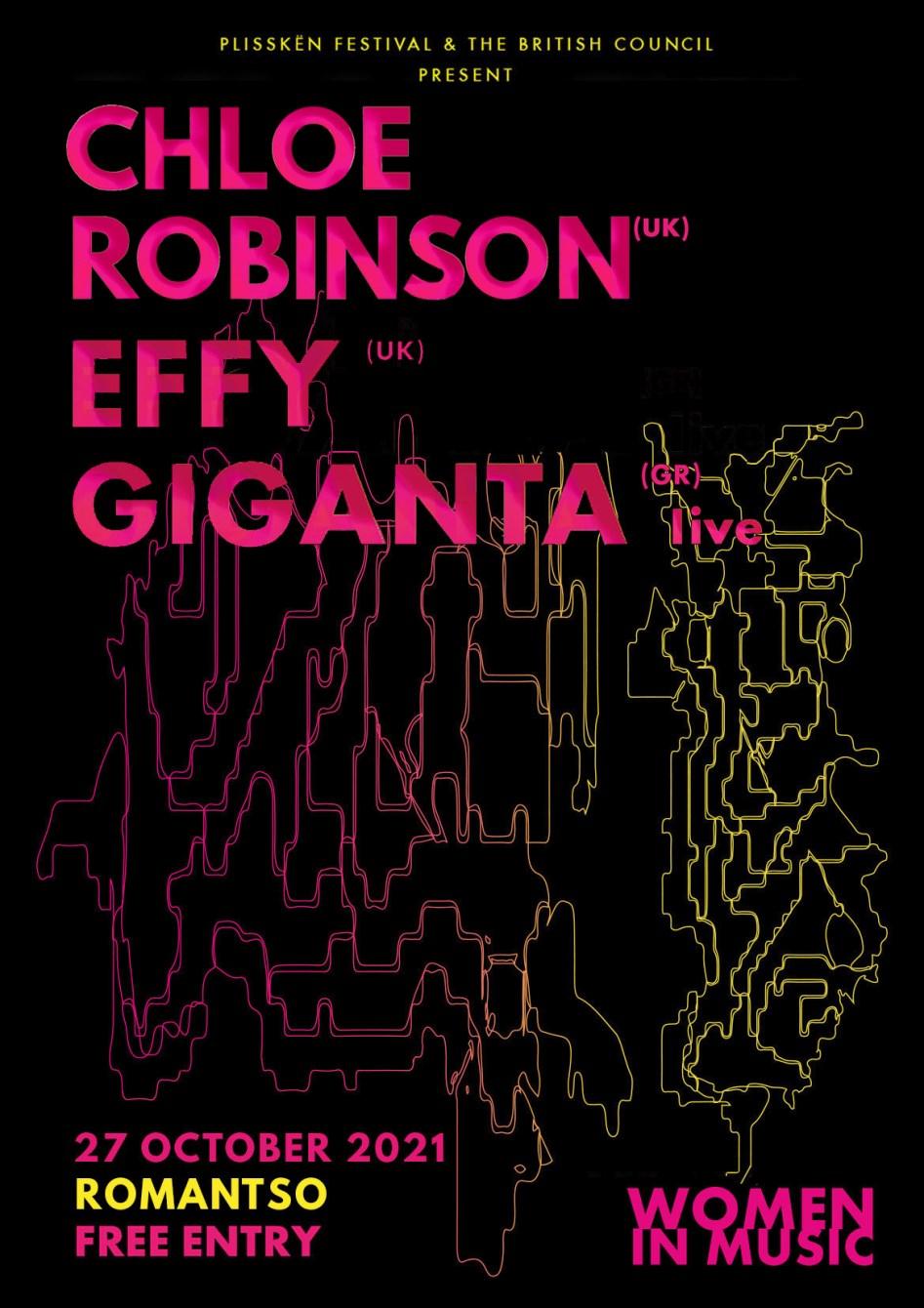 Chloé Robinson & Effy & Giganta - Flyer back