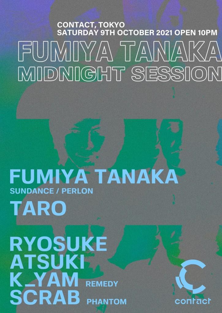 Fumiya Tanaka Midnight Session - Flyer front