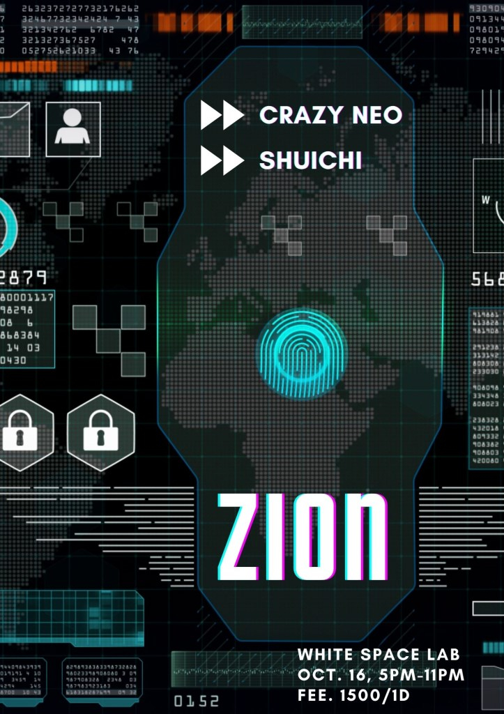 Zion - Flyer front