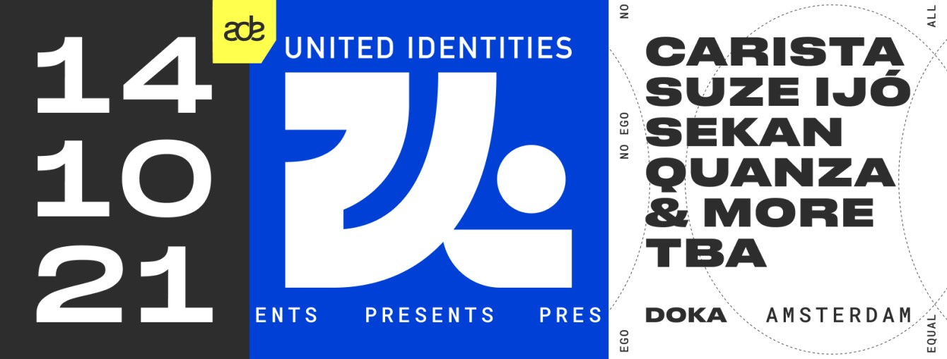 United Identities with Carista, Suze Ijó, Sekan, Lefto - Flyer front
