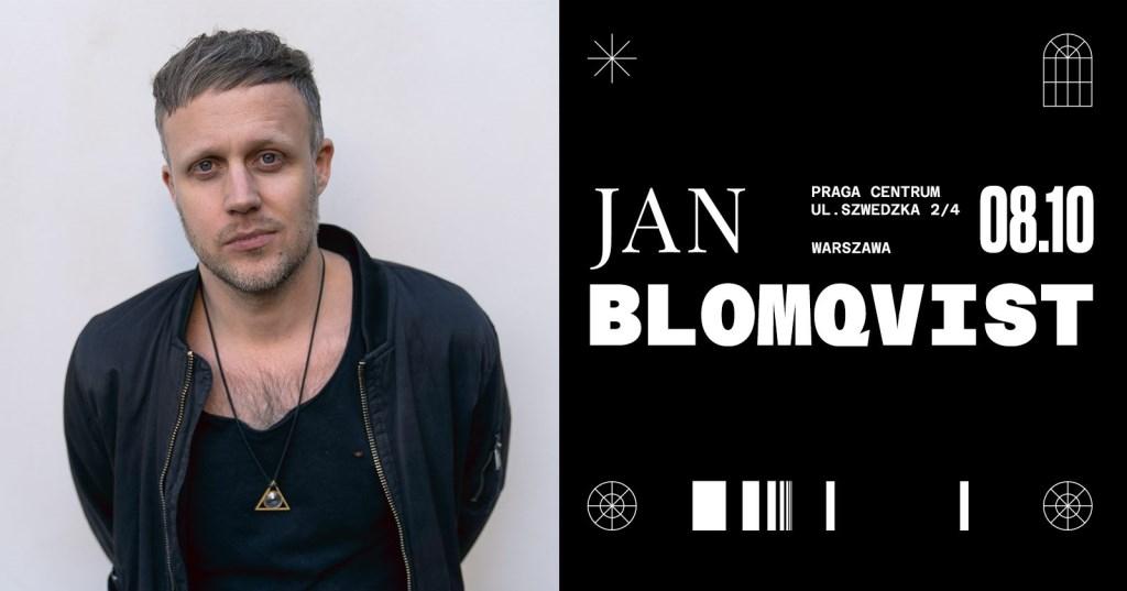 Jan Blomqvist - Flyer front