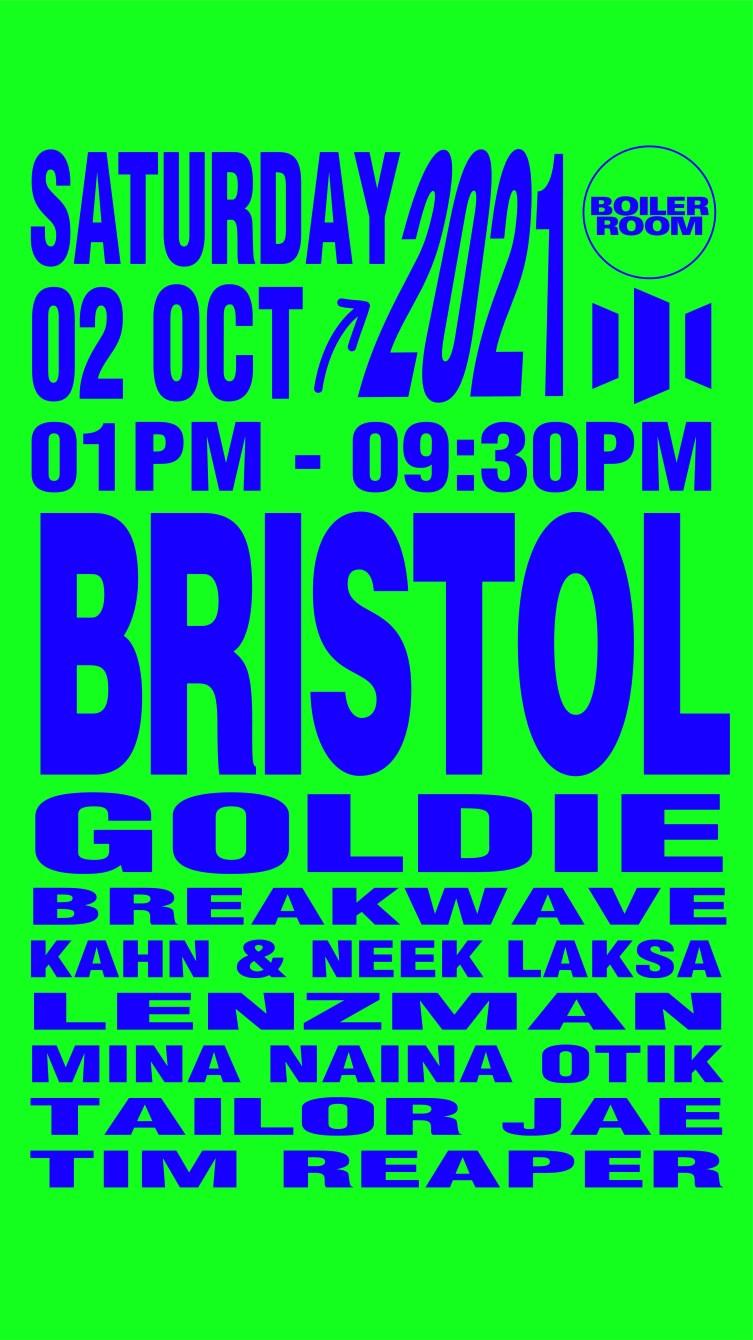 Boiler Room: Bristol [more Tickets added] - Flyer front