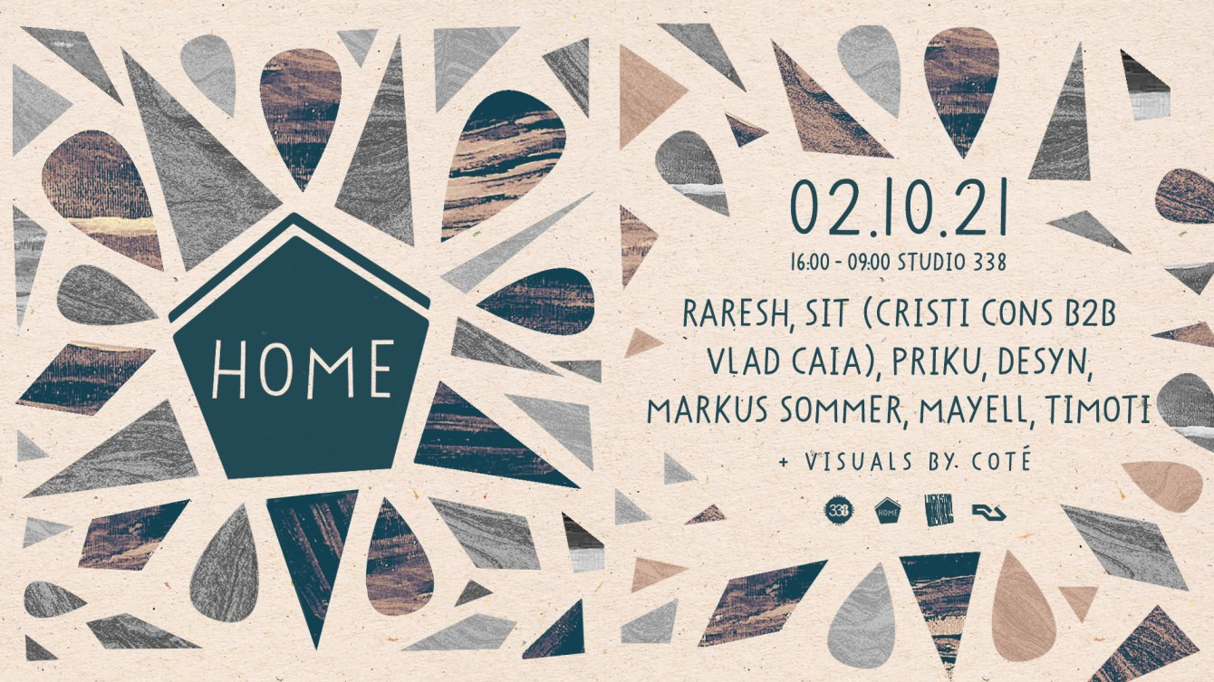 Home - London - Flyer front