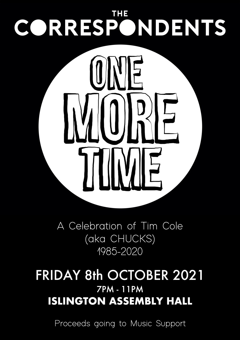 The Correspondents - One More Time - Flyer front