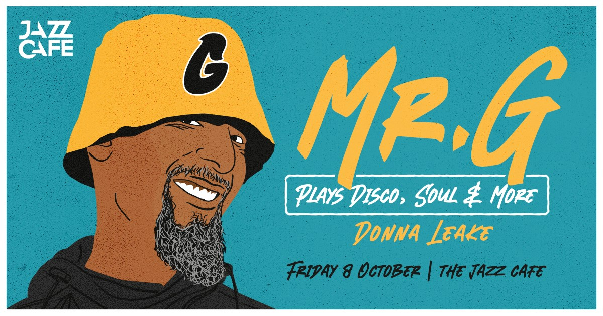 Mr. G Plays Disco, Soul & More - Flyer front