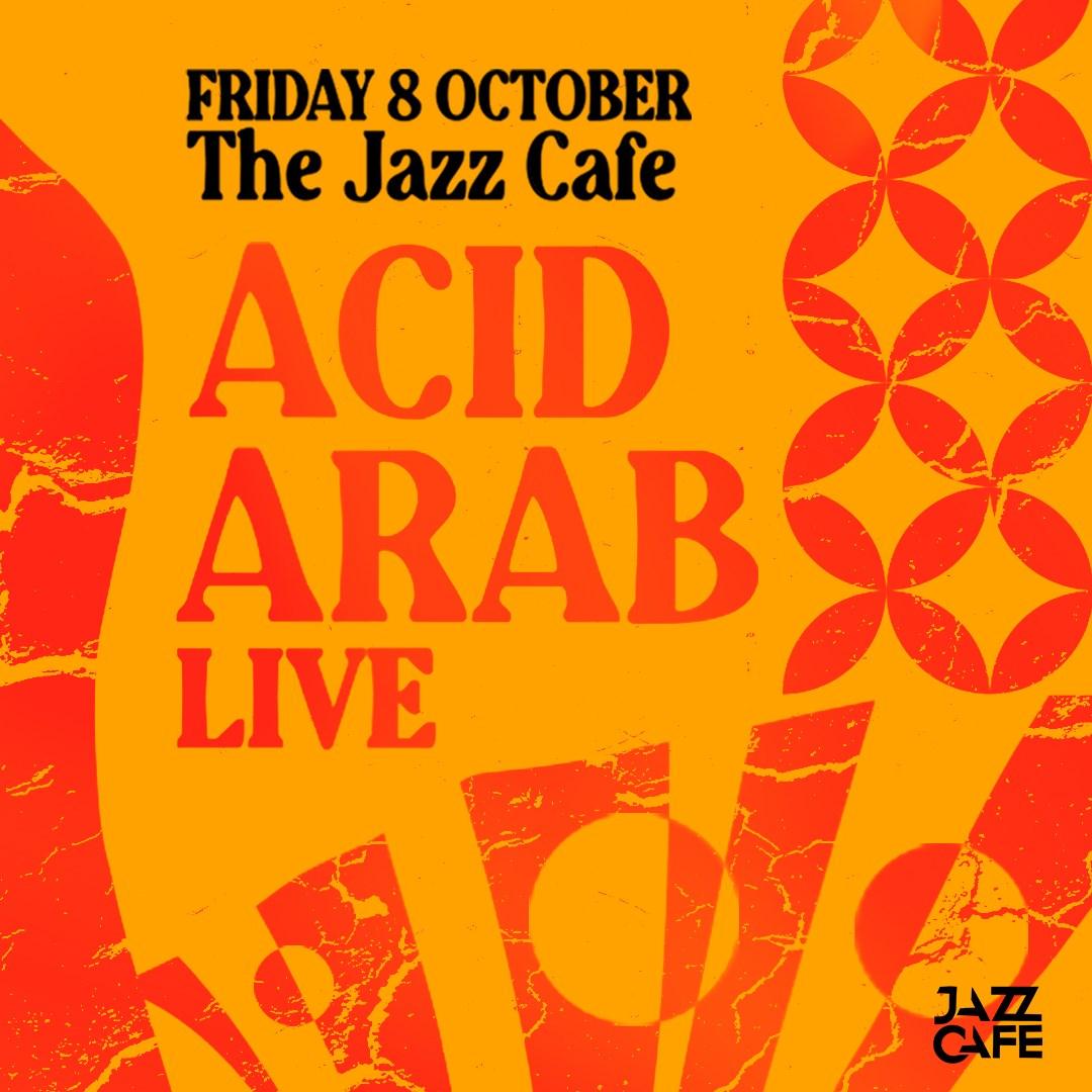 Acid Arab (Live) - Flyer front