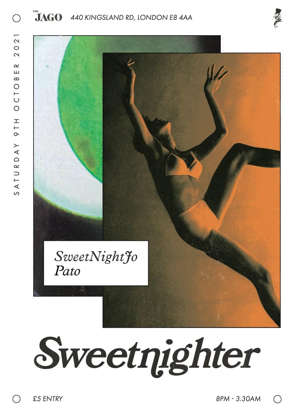Sweetnighter with Pato & Sweetnightjo - Flyer back