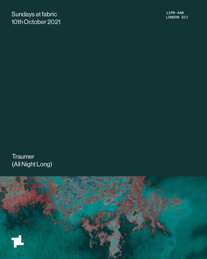 fabric Sundays: Traumer (All Night Long) - Flyer front