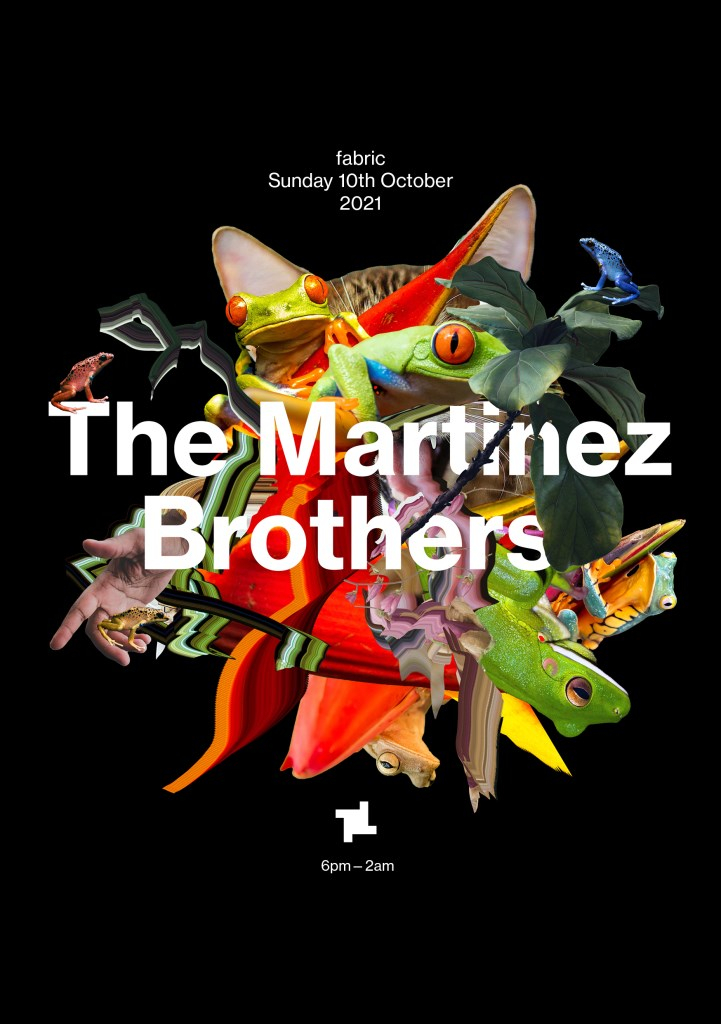 fabric presents: The Martinez Brothers (All Night Long) - Flyer front