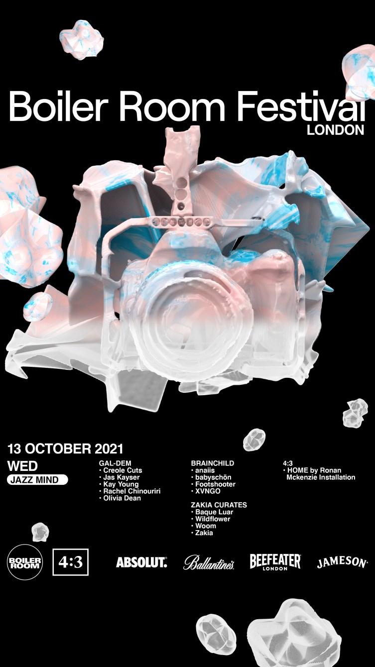 Wed: Jazz Mind I Boiler Room Festival London - Flyer front