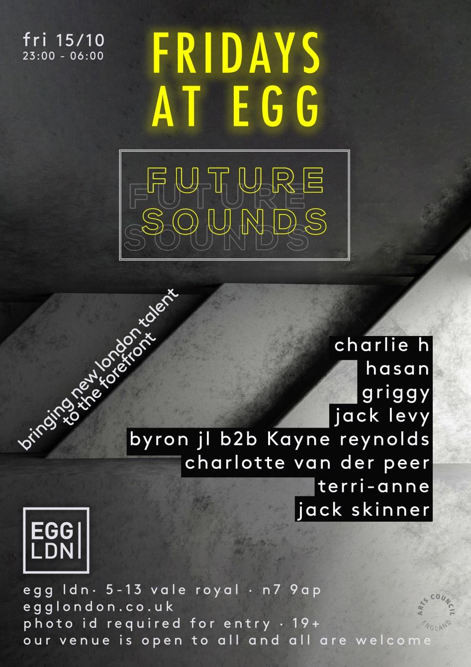 Fridays at EGG: Future Sound (London) - Flyer back