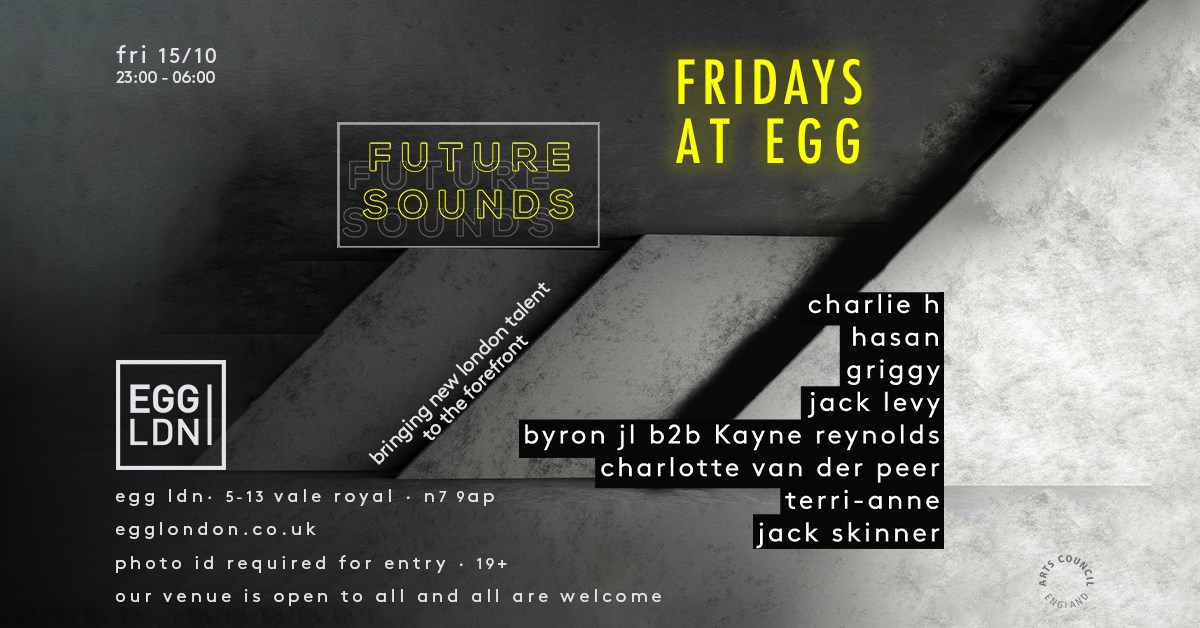 Fridays at EGG: Future Sound (London) - Flyer front