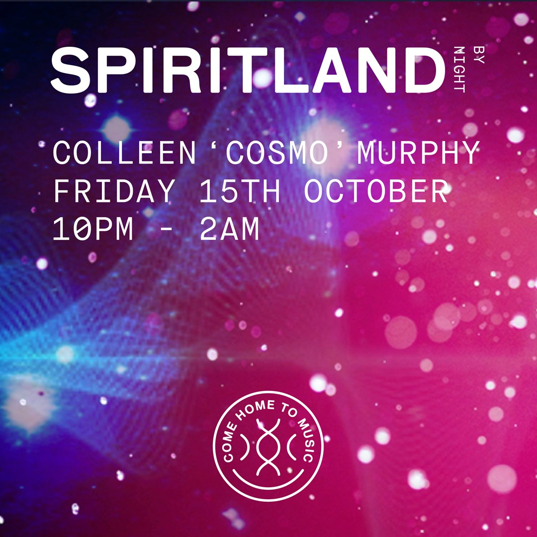 Spiritland By Night: Colleen 'Cosmo' Murphy - Flyer front