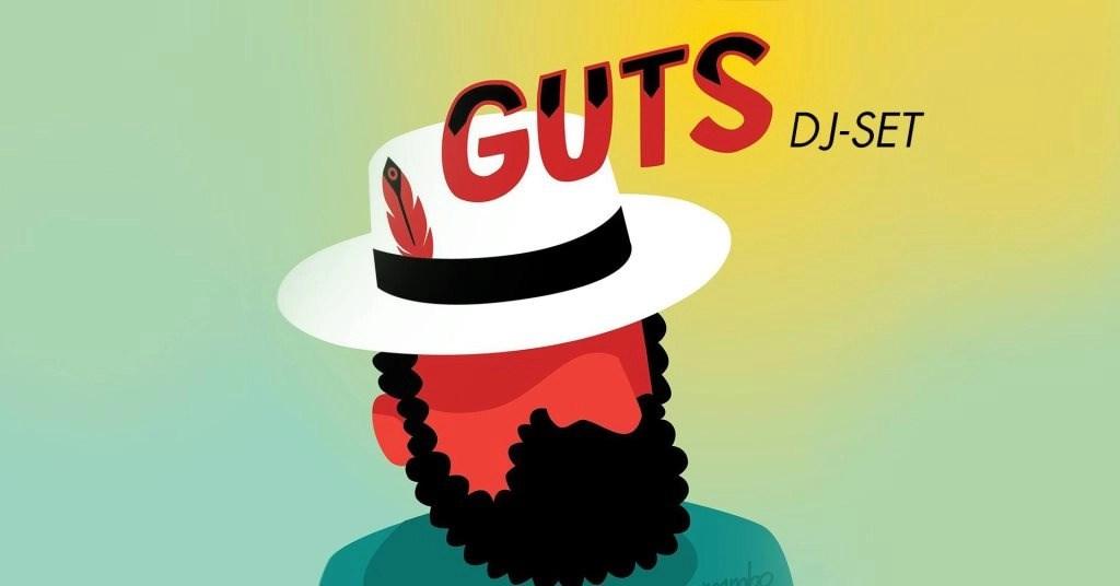 Guts (DJ Set) + David Walters (Live) - Flyer front