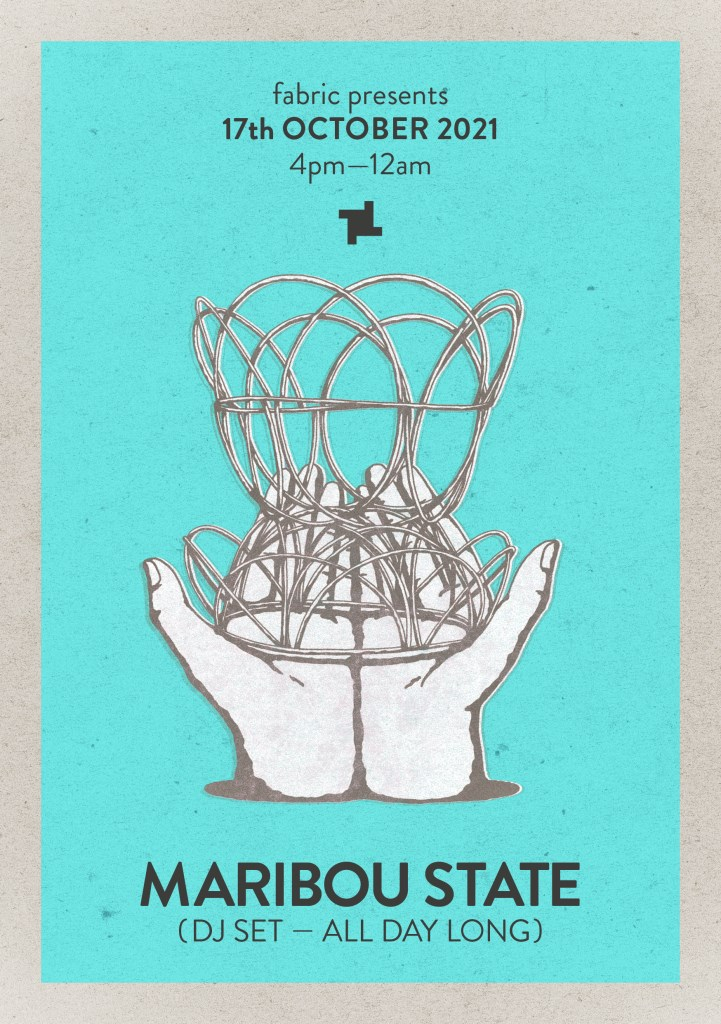 fabric presents: Maribou State - Flyer front