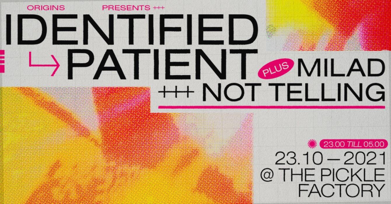 Origins: Identified Patient [Extended Set] - Flyer front