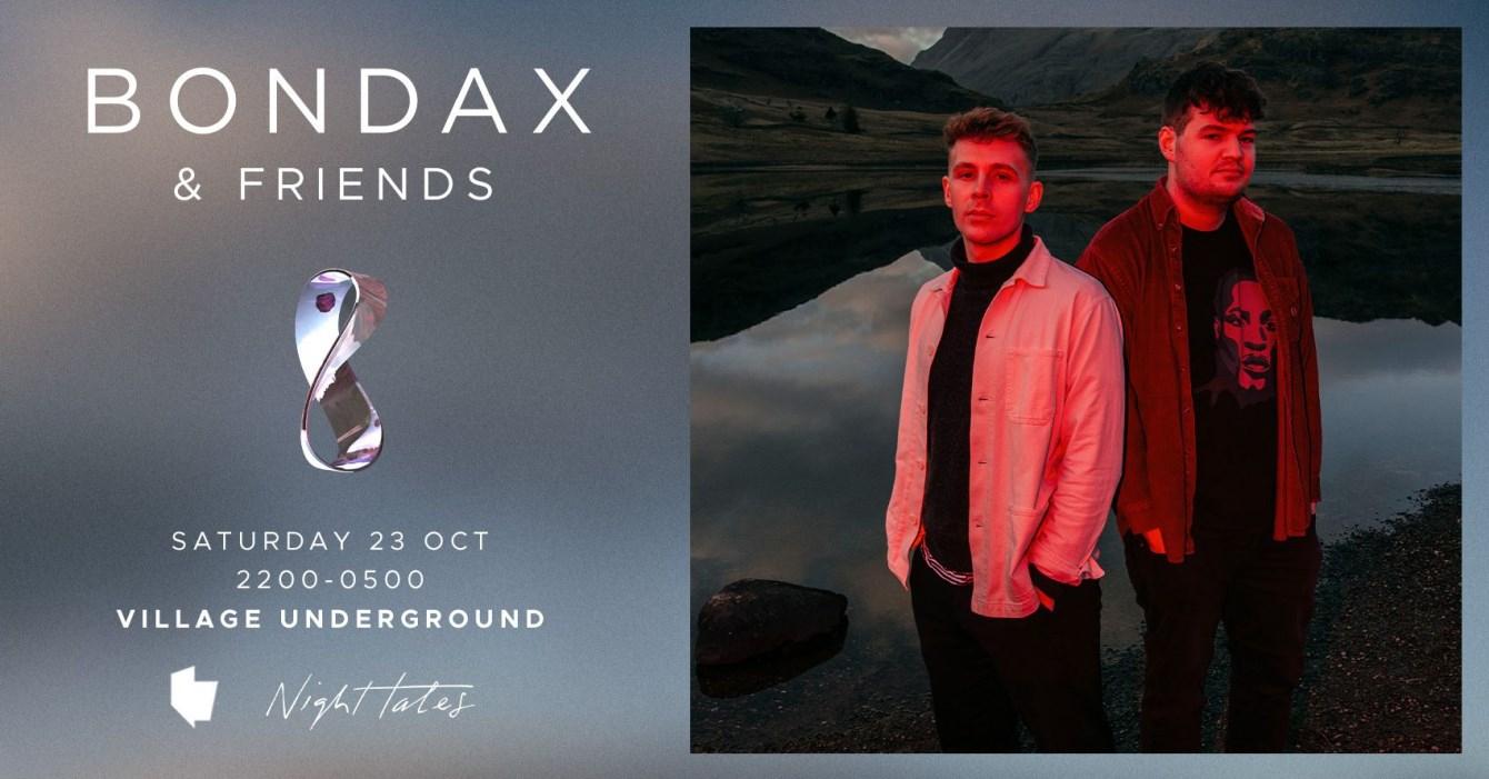 Bondax & Friends: Special Guests TBA - Flyer front