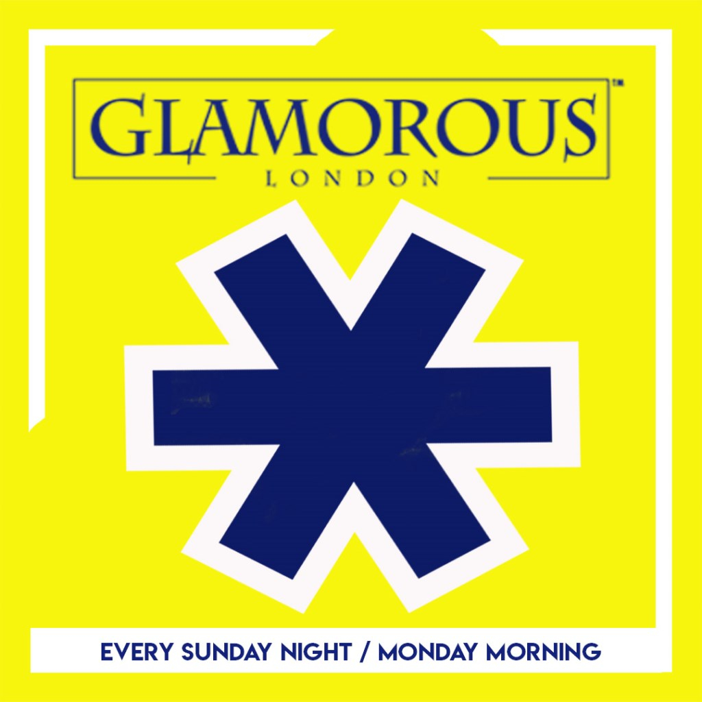 Glamorous Afterparty - Flyer front