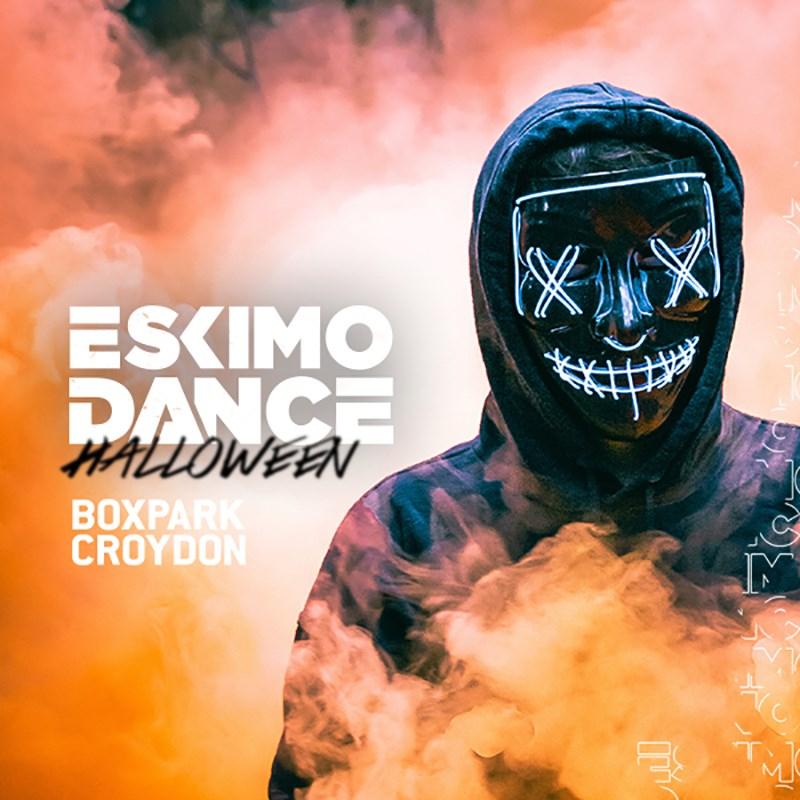 Eskimo Dance Halloween w Ghetts, JME  - Flyer front