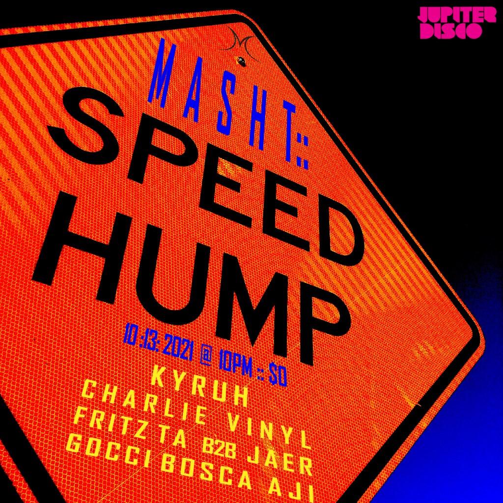 MASHT NYC with KYRUH, Charlie Vinyl, Gocci Bosca - Flyer front