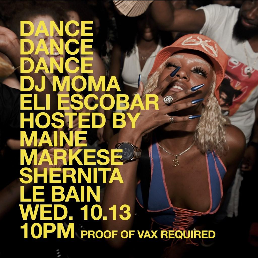 Dance Dance Dance - Flyer front