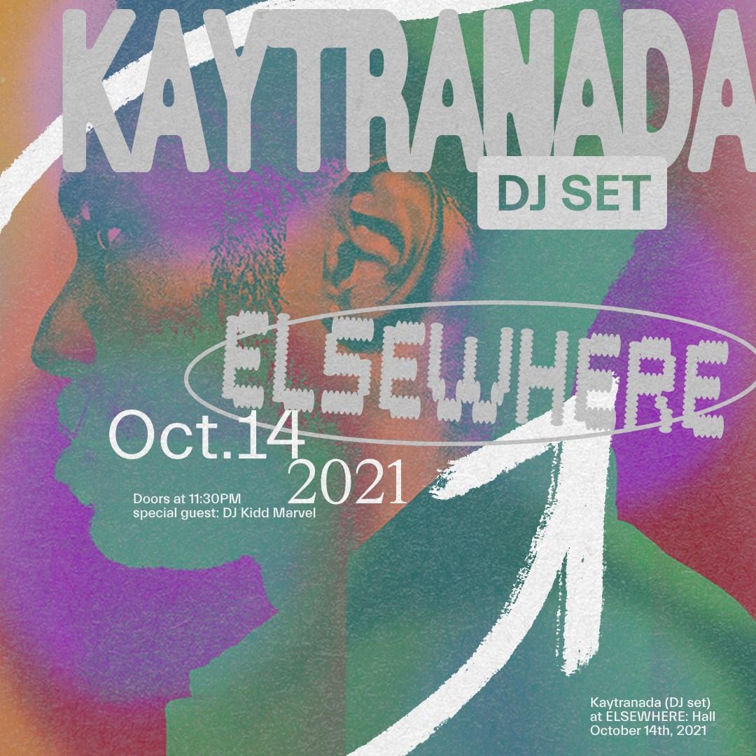 Kaytranada (DJ Set) - Flyer back