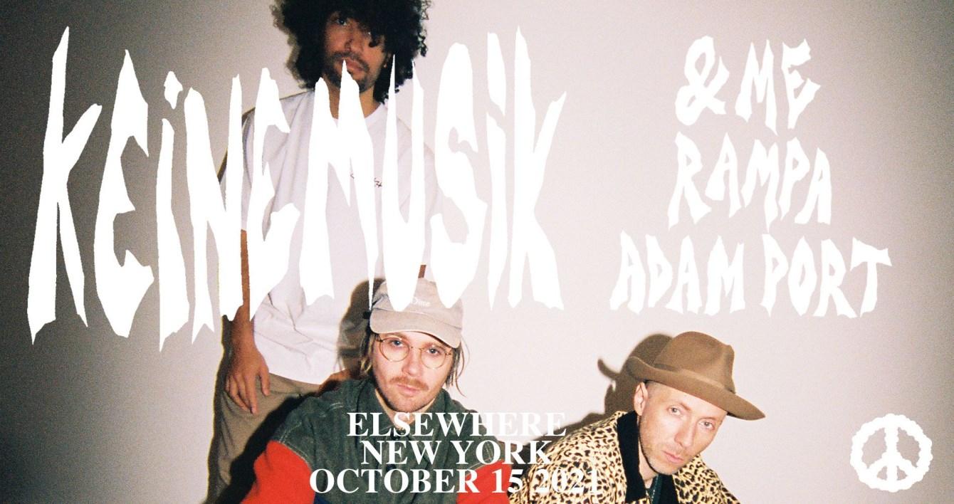 Keinemusik with &ME, Adam Port, Rampa - Flyer front