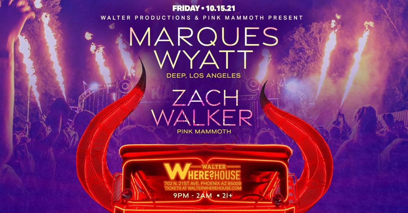 Marques Wyatt & Zach Walker - Flyer front