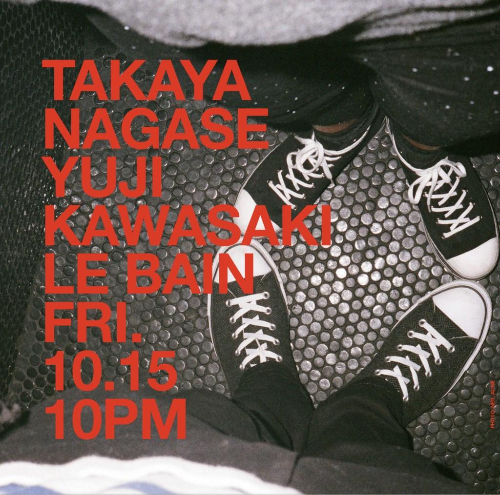Takaya Nagase & Yuji Kawasaki - Flyer front